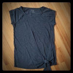 Tops - Motherhood Maternity Tie-front shirt